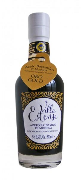 Aceto Balsamico di Modena IGP Oro -Gold- 250ml, Villa Estense
