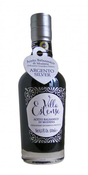 Aceto Balsamico di Modena IGP Argento -Silber- 250ml, Villa Estense