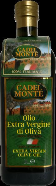 Olio Extra Vergine di Oliva, Natives Olivenöl Extra, erste Güteklasse, 100% Italia 1000 ml, CadelMon