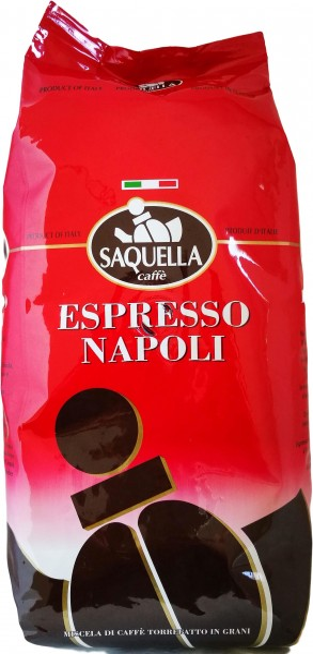 Saquella Espresso Napoli, Bohnen, 1kg