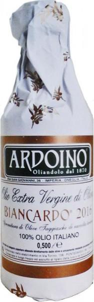 Ardoino Olio Extra Vergine di Oliva, Biancardo 2021, 500 ml, Isnardi