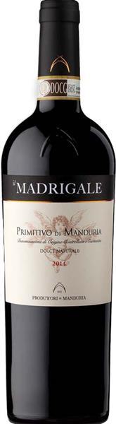 Madrigale Primitivo di Manduria DOC Dolce Naturale - 2019 - Consorzio Promovi (CPVINI)
