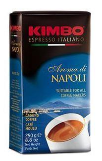 Kimbo Espresso Aroma di Napoli, 250g, gemahlen