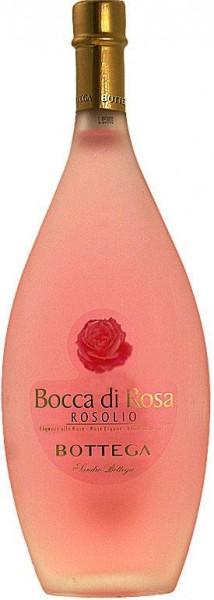 Bocca di Rosa Rosolio, Rosenlikör Bottega, 500ml