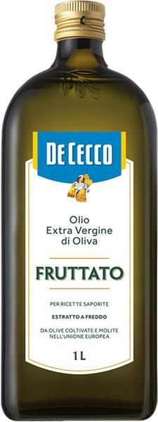 Olio Extra Vergine di Oliva, Natives Olivenöl Extra, Fruttato, 1 Liter, De Cecco