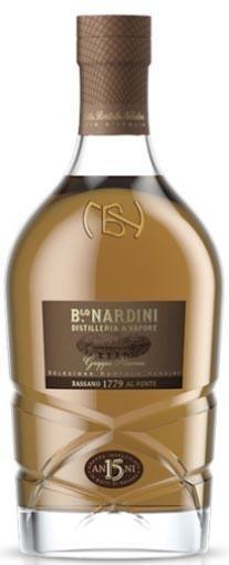 Grappa Riserva Selezione Bortolo Nardini - 15 Jahre gereift - 700ml, Nardini
