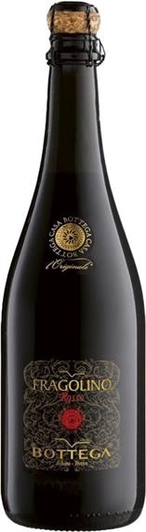 Fragolino Rosso, süsser Perlwein mit nat. Erdbeeraromen, Bottega