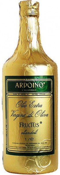Ardoino Olio Extra Vergine di Oliva, Fructus, 1000 ml, Isnardi