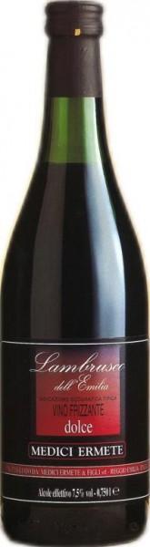 Lambrusco dell' Emilia Rosso IGT, Vino Frizzante, Medici