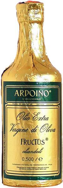 Ardoino Olio Extra Vergine di Oliva, Fructus, 500 ml, Isnardi