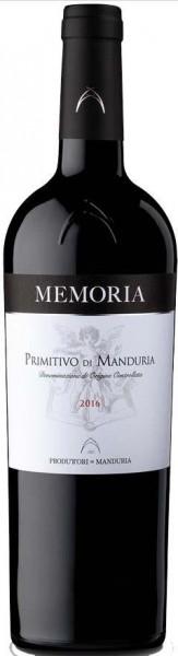 Memoria Primitivo di Manduria DOC - 2019 - Consorzio Promovi (CPVINI)