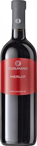 Cusumano Merlot Terre Siciliane IGT - 2017 - Cusumano