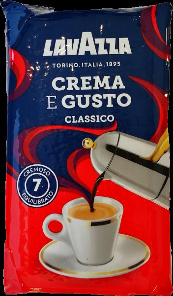 Lavazza Crema e Gusto- Gusto Classico - Espresso, gemahlen, 250g